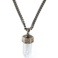 Givenchy Glass Pendant Necklace - Vitkac - Farfetch.com
