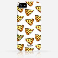 Pepperoni Cheese Pizza Pattern iPhone 4/4s iPhone 5/5s Case