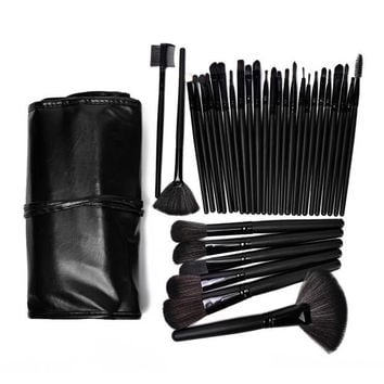 Pink 24 / 18 / 12pcs Makeup Brushes Set Professional Cosmetic Tool Beauty +Top Quality Gift