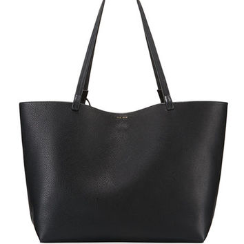 THE ROW Lux Grained Shopper Tote Bag