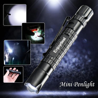 Mini Tactical Flashlight Pen Super Bright 1000LM CREE LED- Free Shipping