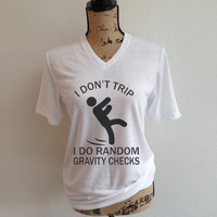 i dont trip i do random gravity checks, jpl, shirt, nasa logo, tumblr shirt, trending, rocket, rocket ship, outer space
