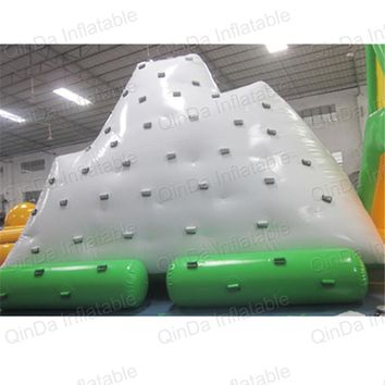 Giant inflatable iceberg water toy inflatable water floating playground water climbing iceberg
