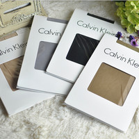 'Calvin Klein' Summer Female Slim Anti-hook Wire Invisible pantyhose cored wire pantyhose ( Slim )