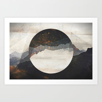 Another World Art Print by Cafelab