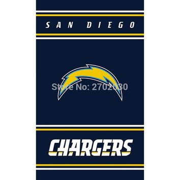 San Diego Chargers Banner Custom MAN CAVE Super Bowl World Series Football Team 3ft X 5ft Mike McCoy San Diego Chargers Flag