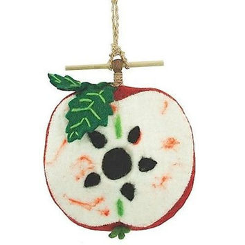 Felt Birdhouse - Apple - Wild Woolies
