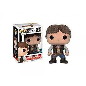 Funko Pop Star Wars: Han Solo Ceremony Exclusive Vinyl Figure