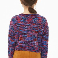 Girls Colorful Chenille Sweater (Kids)