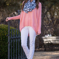 Just Breathe Sweater, Pink