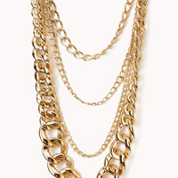 Glam Layered Chain Necklace
