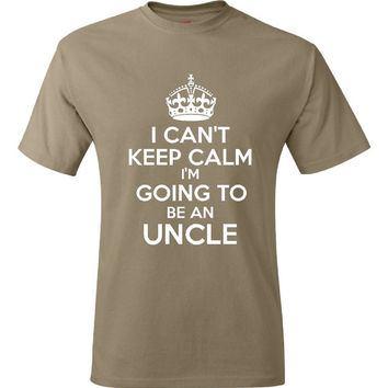 Funny New UNCLE T Shirt Gift Ideas Tee For Aunt New Baby Announcement Brother Gift for Uncle Tee men Style