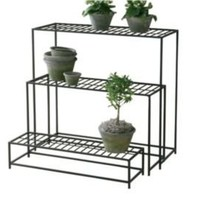 One Kings Lane - Outdoor Accents - Planter Tables, Asst. of 3