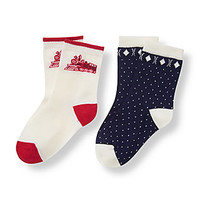 Train Birdseye Sock 2-Pack
