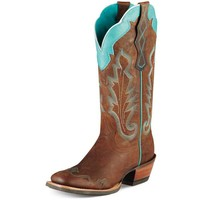 Ariat Women's Caballera Boots - Weathered Brown - 10007852
