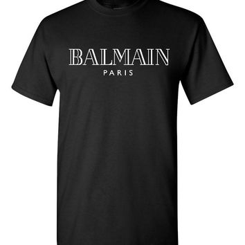 Balmain Paris Black T-Shirt