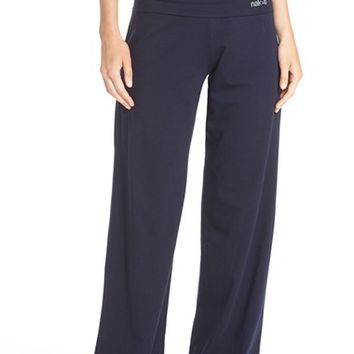 Naked Wide Leg Stretch Cotton Pajama Pants | Nordstrom