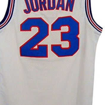 23# Space Jam Jersey Mens Basketball Jersey White