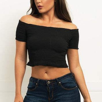 Meredith Top -Black