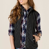 Memphis quilted puffer vest