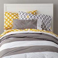 New School Bedding Duvet Cover (Widest Stripe) in Duvet Covers | The Land of Nod