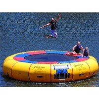Amazon.com: Island Hopper Acrobat 20 Foot Water Trampoline 2012: Sports & Outdoors
