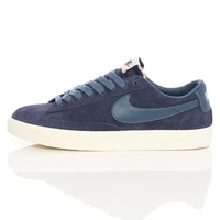 Nike Blazer Low Prm Vntg Mid Navy/Nw Slt 443903-402 | Free UK Shipping and Returns