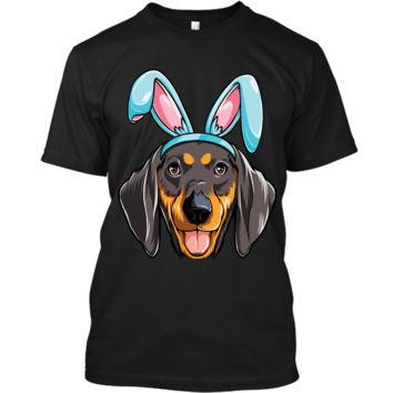 Easter Bunny Dachshund T shirt Dog Boys Girl Kids Men Women Custom Ultra Cotton