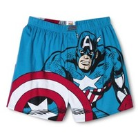 Men's Captain America Boxers