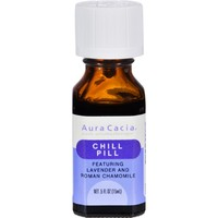 Aura Cacia Essential Solutions Chill Pill - 0.05 fl oz