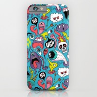Doodled Pattern iPhone & iPod Case by Chris Piascik
