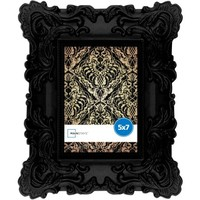 Mainstays 5x7 Chunky Baroque Picture Frame, Black - Walmart.com