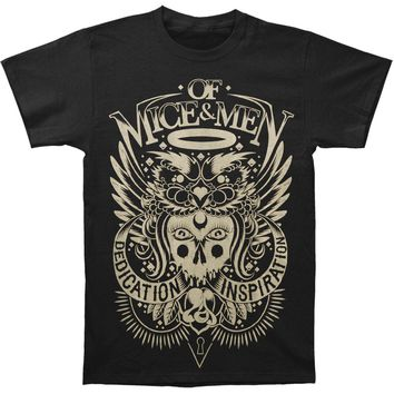 Of Mice & Men Men's  Goat T-shirt Black Rockabilia