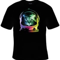 Space Cat T-Shirt Women's