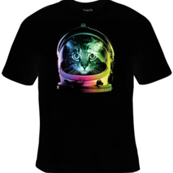 Space Cat T-Shirt Men's