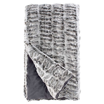 Couture Fur Throw