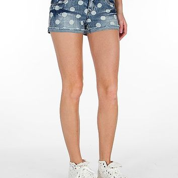 Tinseltown Polka Dot Stretch Short