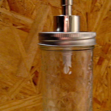 EcoFavorable Mason Jar Dispenser 12Oz by TheHoneyShack on Etsy