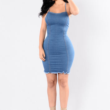 Blueberry Hill Dress - Denim