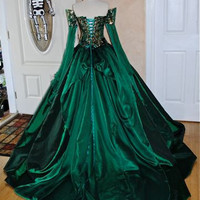 Cersei Game of Thrones Medieval Corset Gown Custom