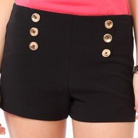 Six-Button Matelot Shorts