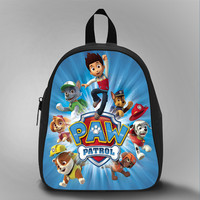 Paw Patrol Hello, School Bag Kids, Large Size, Medium Size, Small Size, Red, White, Deep Sky Blue, Black, Light Salmon Color
