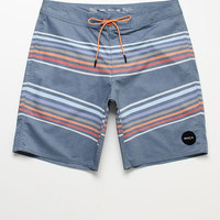 "RVCA Islands Striped 19"" Swim Trunks at PacSun.com"