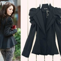 iOffer: Specail Price Women Blazer Shrug Shoulder women Jacket for sale