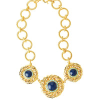 Lilly Pulitzer In The Vias Medallion Necklace