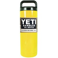 YETI Yellow Gloss 18 oz Rambler Bottle