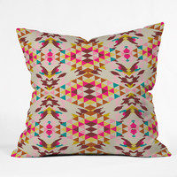 Holli Zollinger Geo Nomad Outdoor Throw Pillow
