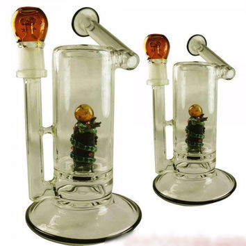 EMPIRE 'UNDER THE SEA' GLASS WATER PIPE