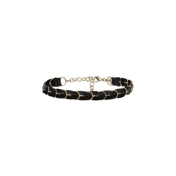Black Gold Plated Chain Necklace