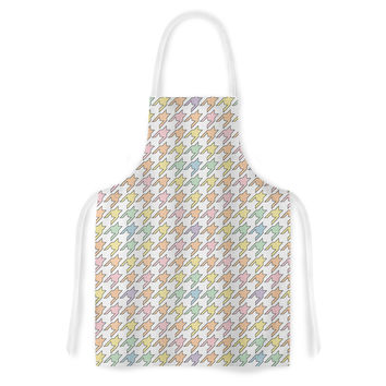 "Empire Ruhl ""Pastel Houndstooth"" Artistic Apron"